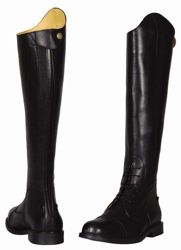 TuffRider Men's Baroque Field Boots, Black, 13 Wide by TuffRider