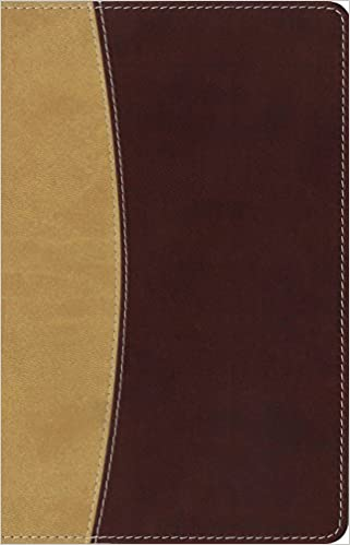 26c453b285b06 Amplified Holy Bible, Compact, Leathersoft, Tan/Burgundy: Captures ...