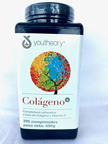 Colágeno Americano Hidrolizado + Vitamina C - 390 Compromidos, 450 g