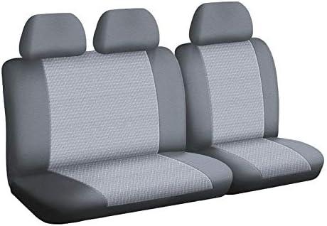Montaggio Rapido Compatibile Airbag 1011738 su Misura DBS Coprisedili Auto//Utilitarie Isofix