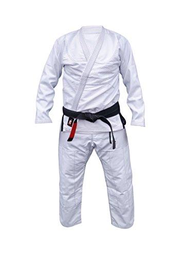 Woldorf USA BJJ uniform jiu jitsu gi student in BLACK color NO LOGO
