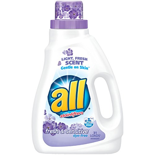 - All Liquid Laundry Detergent, Free & Clear - 46.5 oz