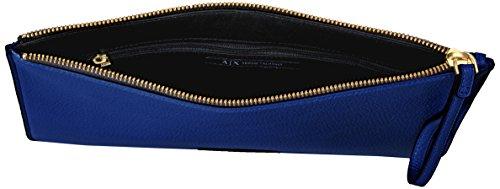Pu Pebble X Blue Armani Exchange Royal A Pouch 7xvfq7w