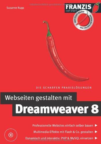 Webseiten gestalten mit Dreamweaver 8