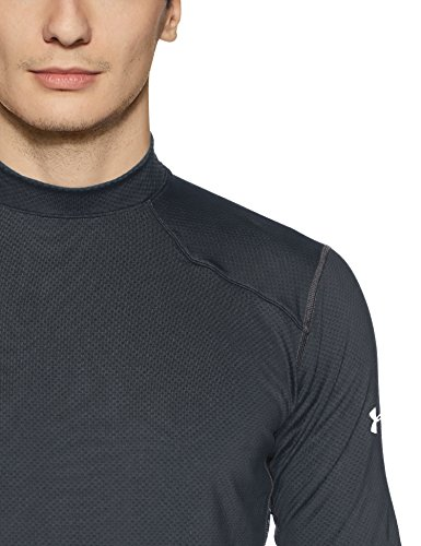 Base Coldgear Under Fitted Top Sleeve Black Armour Reactor Long Layer silver 001 O77fY