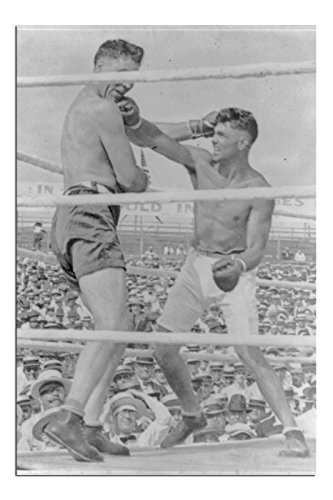 - JP London SPAP2473 Solvent Free Poster Art Print Ready to Frame Vintage Jack Dempsey Boxing Champ 1920 at 17