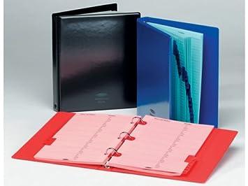 Concord 29606 - Agenda telefónica con 20 hojas, azul: Amazon ...