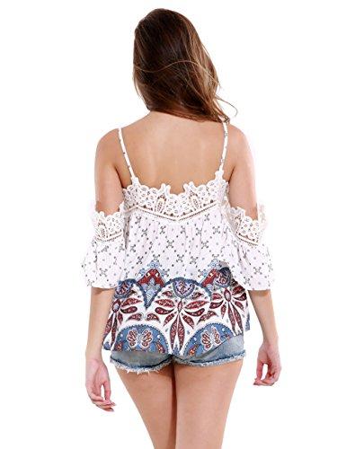 BATTAR-GIRL - Camiseta sin mangas - Asimétrico - para mujer Como Cuadro