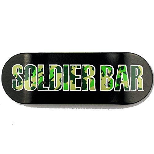 군인 바 SOLDIERBAR8.0 메이플 나무 지판(갑판 트럭 휠 세트)위장