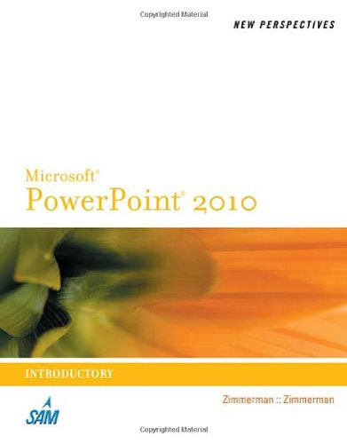 [PDF] New Perspectives on Microsoft PowerPoint 2010, Introductory Free Download | Publisher : Course Technology | Category : Computers & Internet | ISBN 10 : 0538753730 | ISBN 13 : 9780538753739