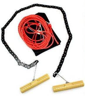 ハンディチェンソー 高枝用ロープ付き B016QAWVOU