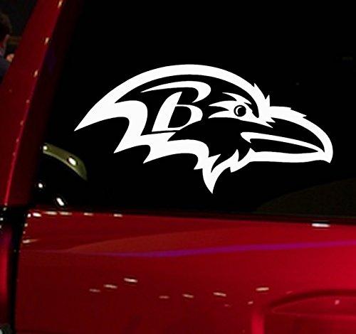 AUTO - STICKER - NFL - FOOTBALL - RAVENS - DECAL - FOR - CAR - TRUCK - WINDOW - SUV - COOLER - MOTORCYCLE - HELMET - HARDHAT - (Nfl Helmet Decals)