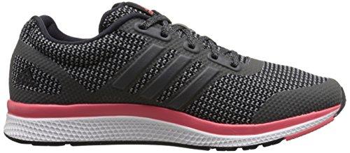 Adidas Performance Mana de la despedida del zapato corriente, negro / shock verde / amarillo resplan Black/Vista Grey/Prism Blue
