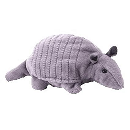 ee1abe67f00 Amazon.com  Tank TY Beanie Baby the Armadillo (4th Gen hang tag) (8 inch)   Toys   Games