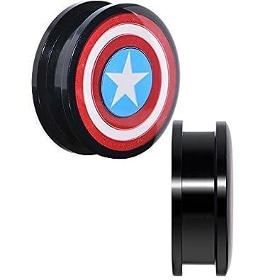 """1"""" Capitán América Ajuste Tornillo Juego De Bujías"""