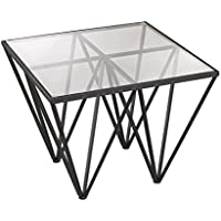 Dimond Home 3200-007 Geometric Side Table, 26 x 26 x 20