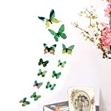 Elevin(TM)  3D DIY Wall Sticker Stickers Butterfly Home Decor Room Decorations New GN