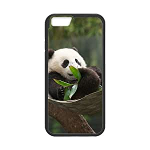 "Iphone6 4.7"" 2D Custom Phone Back Case with Panda Image"