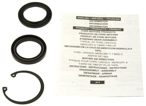 Edelmann 8779 Power Steering Gear Box Lower Pitman Shaft Seal Kit (Shaft Pitman)