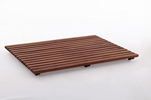 Nordic Style Teak Shower/Bath Mat Oiled 31.4″ x 19.6″ by Nordic Style (Image #2)