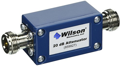 Wilson Electronics 20 dB Attenuator, N-Female (50 Ohm) by weBoost