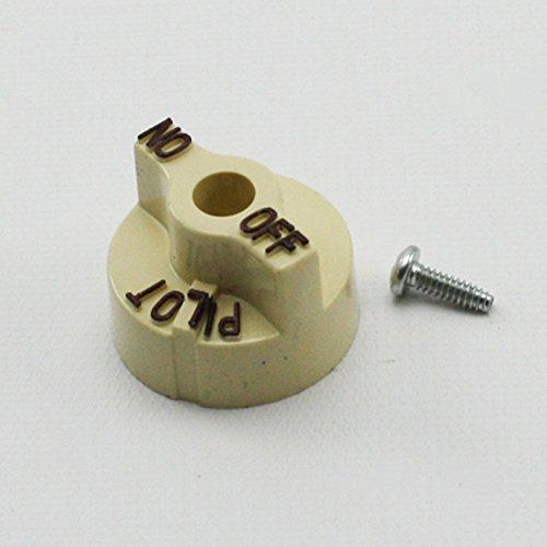 Gas Knob - Robertshaw 1751-012 VALVE KNOB;1-1/4 D OFF-PILOT-ON by Robertshaw