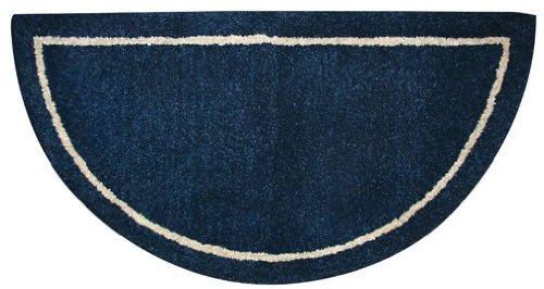 Blue Wool Rug (Deep Blue Hand Tufted 100% Wool Rug)