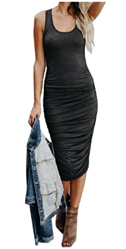 Scoop Solid Coolred Ruffle Evening Dress As1 Women's Sleeveless Silm Sexy qZwwt6T