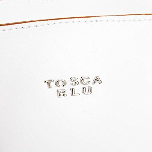 Tosca Blu Borsa da Donna ginseng in Pelle TS169B421 Bianco