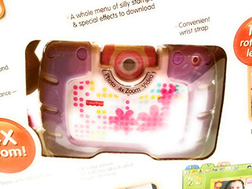 Fisher-Price Kid-Tough See Yourself Camera, Purple by Fisher-Price (Image #2)