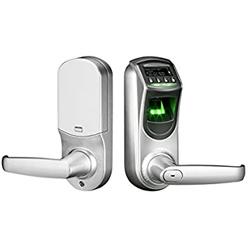 Amazon.com : ZKTeco L7000U Fingerprint Biometric Lockset Keyless ...