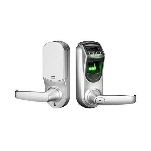 5. ZKTeco L7000U Fingerprint Biometric Lockset Keyless Smart Door Lock