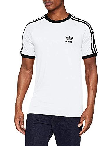 (adidas Originals 3-Stripes Tee Short Sleeve T-Shirt Large)