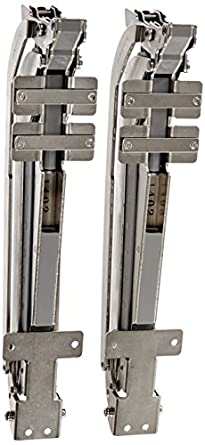 Wonderful Sugatsune, Lamp LIN X450 Cabinet Door Hardware, Nickel/ Aluminium, Nickel/
