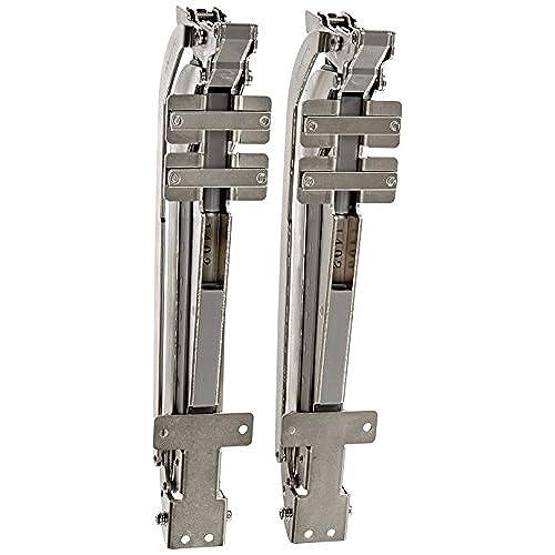 Sugatsune, Lamp LIN-X450 Cabinet Door Hardware, Nickel/ Aluminium