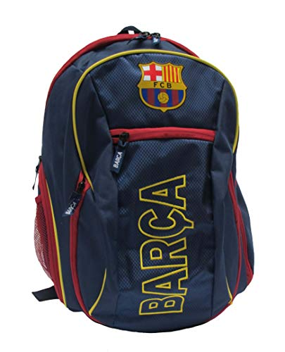 5825d254e HKY Sportswear FC Barcelona Official Soccer Club Multi-Use Back Pack Bag  (Navy, ONE Size)