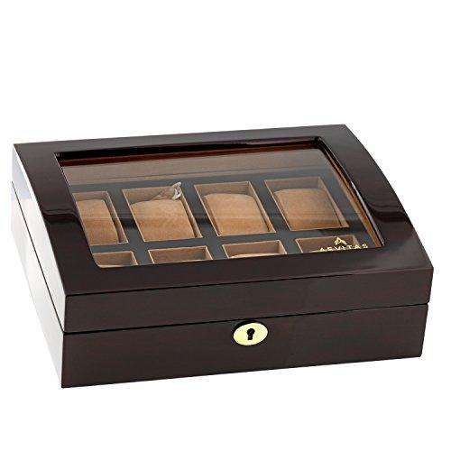 Aevitas Uhrenboxen - Walnuss 8 GT -