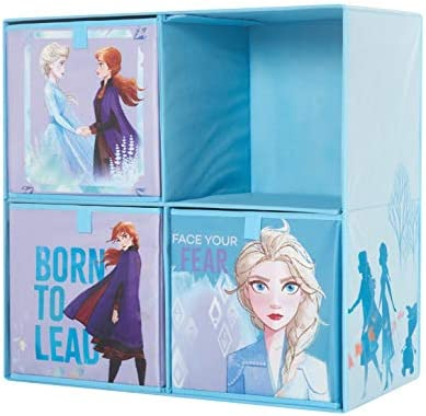 Disney Frozen 2 Collapsible Soft Storage Cubby
