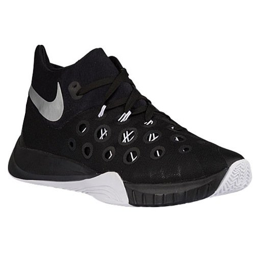 Nike Zoom Hyperquickness 2015 Basketball Shoes (14 D(M) US, Black) (Nike Zoom Hyperquickness)