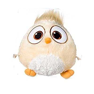 """ENVI 8"""" Angry Bird Beige Hatchling Plush Soft Toy: Toys & Games"""