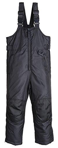 iXtreme Kids Water Resistant Insulated Snowboard Snowpants Pant Snowbib Snow Bib - Black (Size 3T)