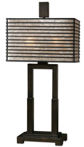Modern Oil Rubbed Bronze Metal Table Lamp Modern by Zinc Decor