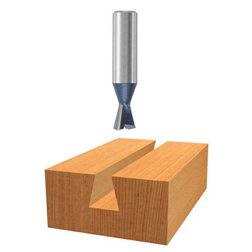 Bit Tipped Dovetail Carbide (Bosch 85240M 15 degree x 17/32 In. Carbide Tipped Dovetail Bit)