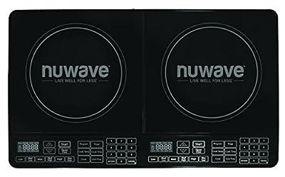 NuWave 30602 Double Precision Induction Cooktop Burner, Black