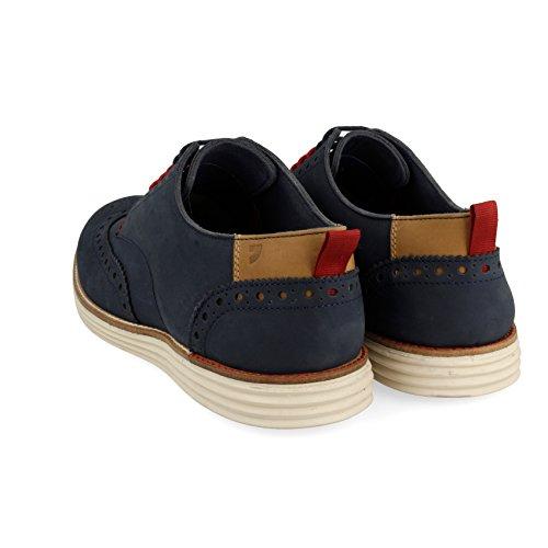 Hombre para Cordones 43514 Zapatos Azul Gioseppo Marino de Derby tYqzXw