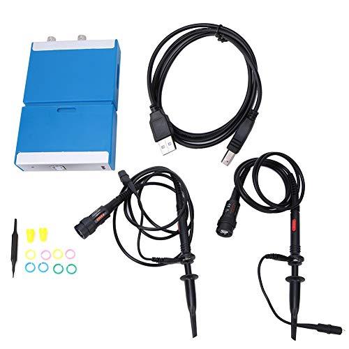 デュアルチャンネルオシロスコープC520 PCハンドヘルドデジタルバーチャルオシロスコープ20MHz帯域幅50M アンドロイドの携帯電話に適用