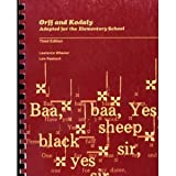 Orff and Kodaly Adapted for the Elementary School, Wheeler, Lawrence and Raebeck, Lois, 0697035042