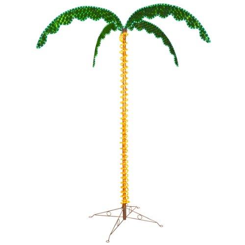 led light palm tree - 3