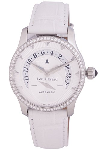Louis Erard Women's 92600SE01.BAV02 White Leather Band.