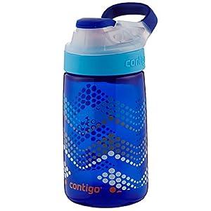 Contigo Autoseal Gizmo Sip Kids Water Bottle, 14-Ounce, Sapphire